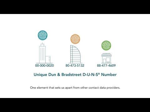 Dun & Bradstreet Contact Data