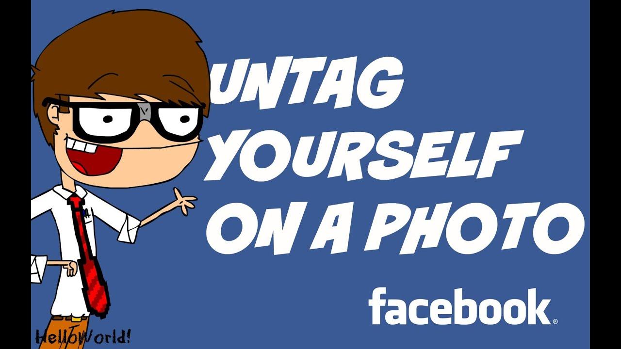Untag photos facebook