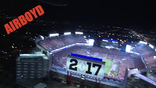 Hear The Crowd! National Championship Game Flyover
