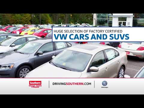 Certified Pre-owned at Southern Volkswagen is Almost Like Buying New For Thousands Less!