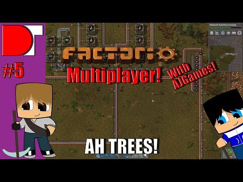 AH TREES! - Factorio Multiplayer with AJGames - EP 5!