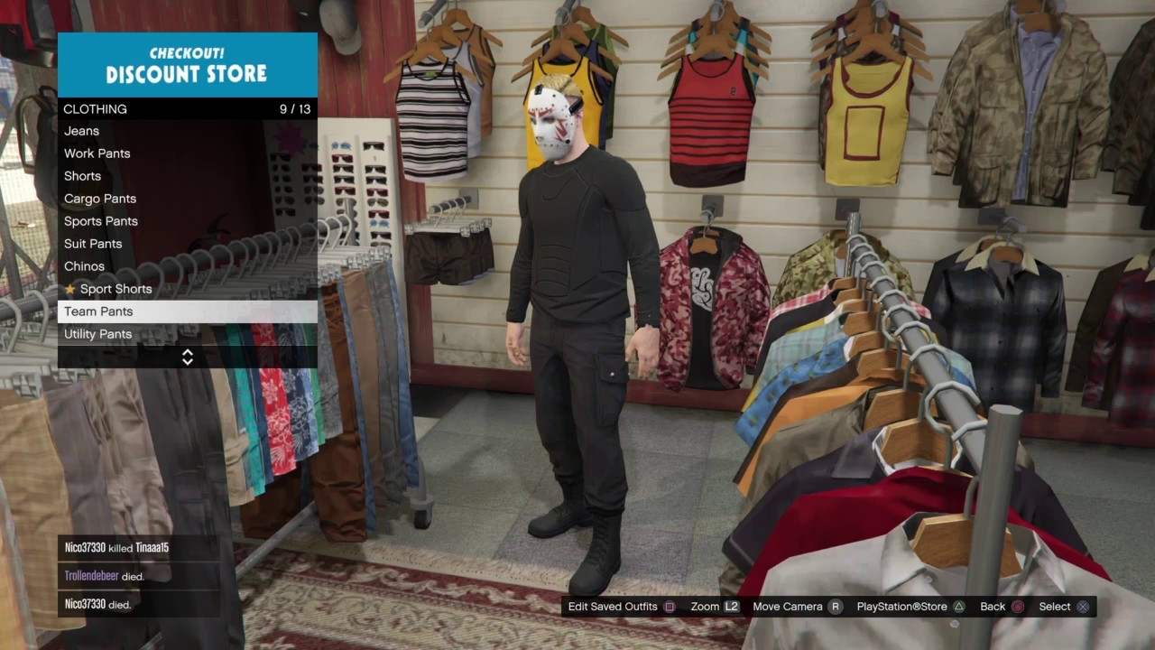 3 cool outfits gta online vanoss h20delious jan:friday 13th game