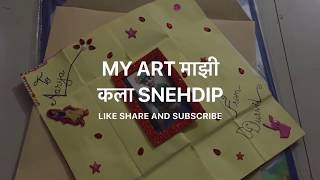 How to make Envelope out of paper Envelope making step by step procedure