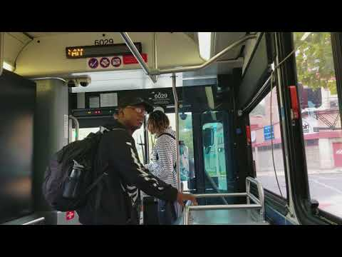 Leaving Cincinnati, Ohio on Go Metro Route 20. Part 1