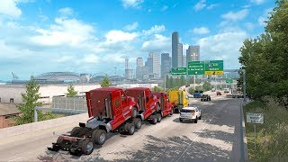 [LIVE 🔴] FIRST LOOK | Washington DLC - New Map, New Trucks, More Logging | American Truck Simulator