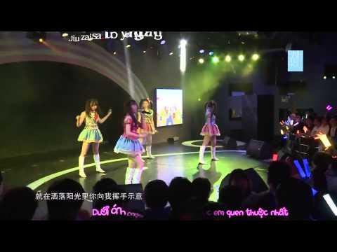 [Vietsub+Kara] Gomen ne Jewel - SNH48 (Team SII)