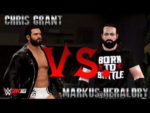 WWE 2K16: Chris Grant vs Markus Heraldry II