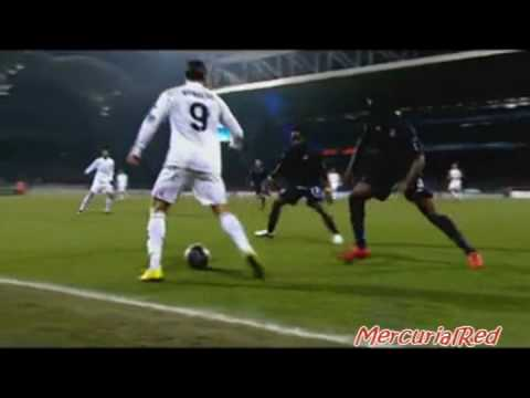 Cristiano Ronaldo  Real Madrid   Skills Goals   Season 09/10 The best since Best