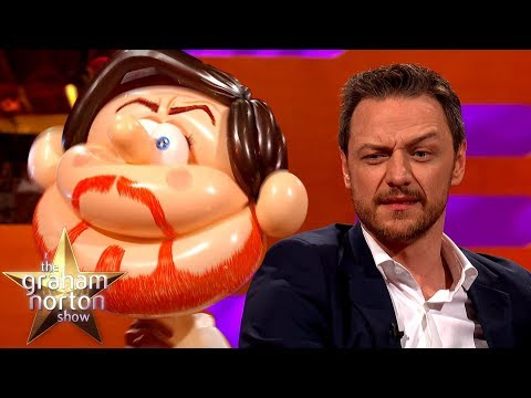 James McAvoy Meets Himself AS A BALLOON  The Graham Norton Show