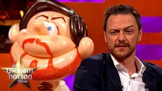 James McAvoy Meets Himself AS A BALLOON | The Graham Norton Show