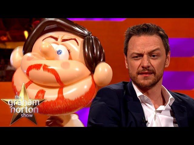 James McAvoy Meets Himself AS A BALLOON | The Graham Norton Show