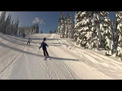 Skiing White Pass Washington