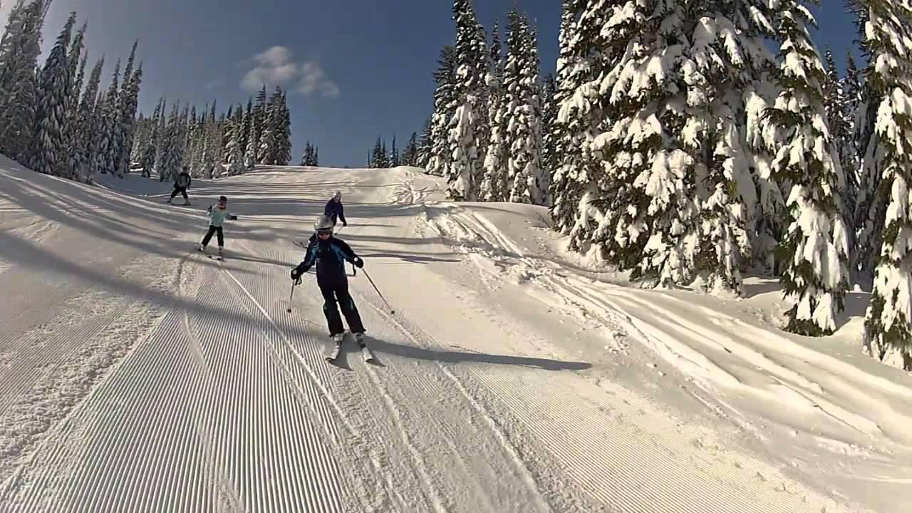 skiing white pass washington - youtube