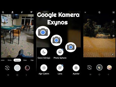 Google Kamera Exynos Samsung S9/S9 S8/S8 Note 8/9 Port !!! видео