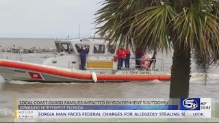 Government shutdown affects local Coast Guard families