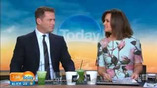 Today Show Funny Bits Part 69. Getting His Just Desserts!