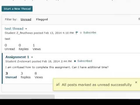 PAWS Update Lesson 3: Discussion Boards