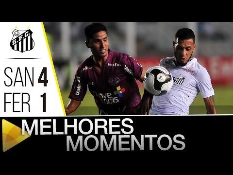 Santos 4 x 1 Ferroviária | MELHORES MOMENTOS | Paulistão (31/03/16)