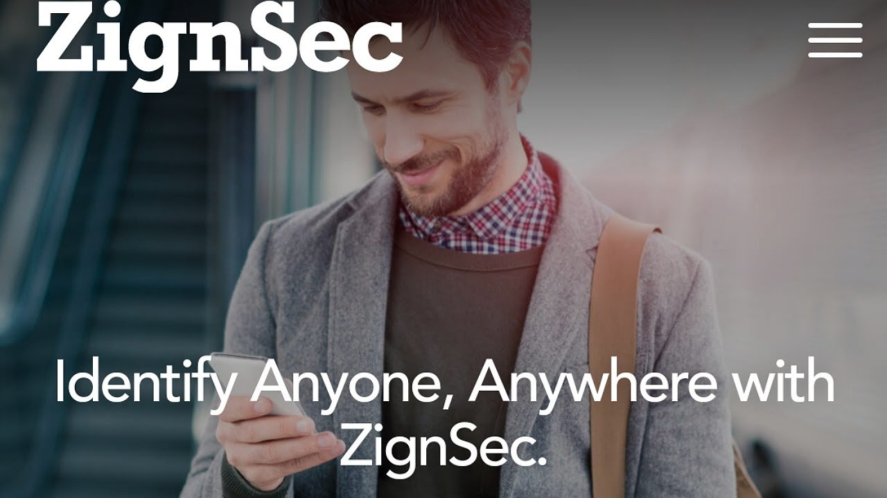 Långsiktiga innehav: Zignsec, Identify Anyone, Anywhere - YouTube