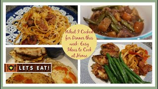 What's For Dinner | Easy Dinner Ideas to Cook at Home