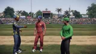 Don Bradman Cricket 14 PC Gameplay Sri Lanka vs England | 1080p