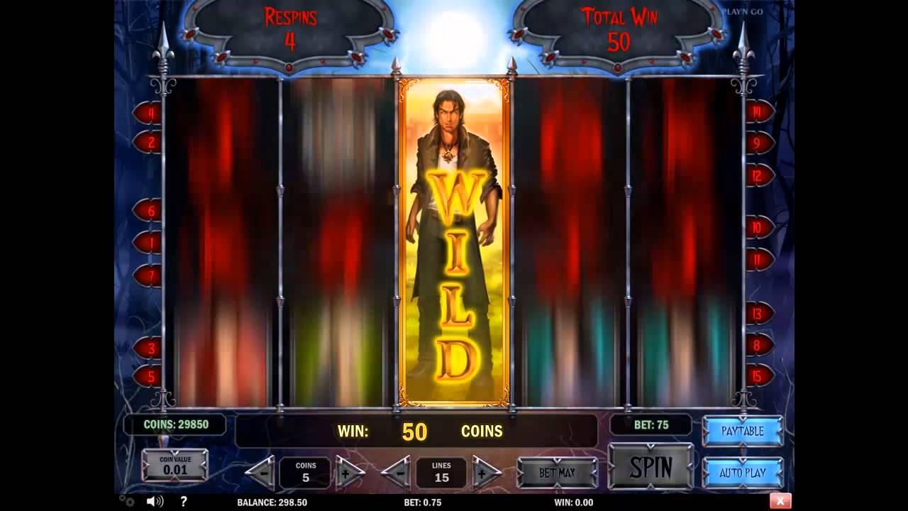 Wild Blood Slot Machine