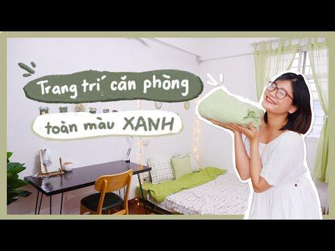 CHANG DIY   Trang Trí Phòng Ngủ Đón Hè Chỉ Với Một Tấm Vải   Summer Room Decor   Chang Lọ Mọ
