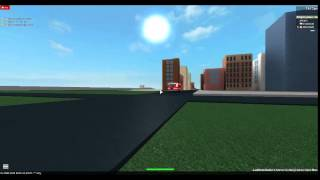 """Roblox DuggerTown FD Rescue 1 Responding """"CLOSE CALL WITH ENGINE!!!"""""""