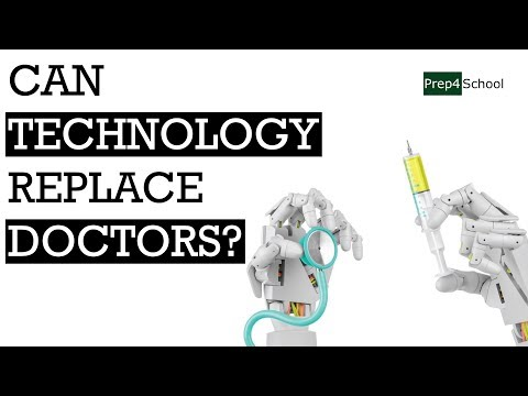 Can Technology Replace Doctors? | Careers Disrupted by Artificial Intelligence | Prep4School