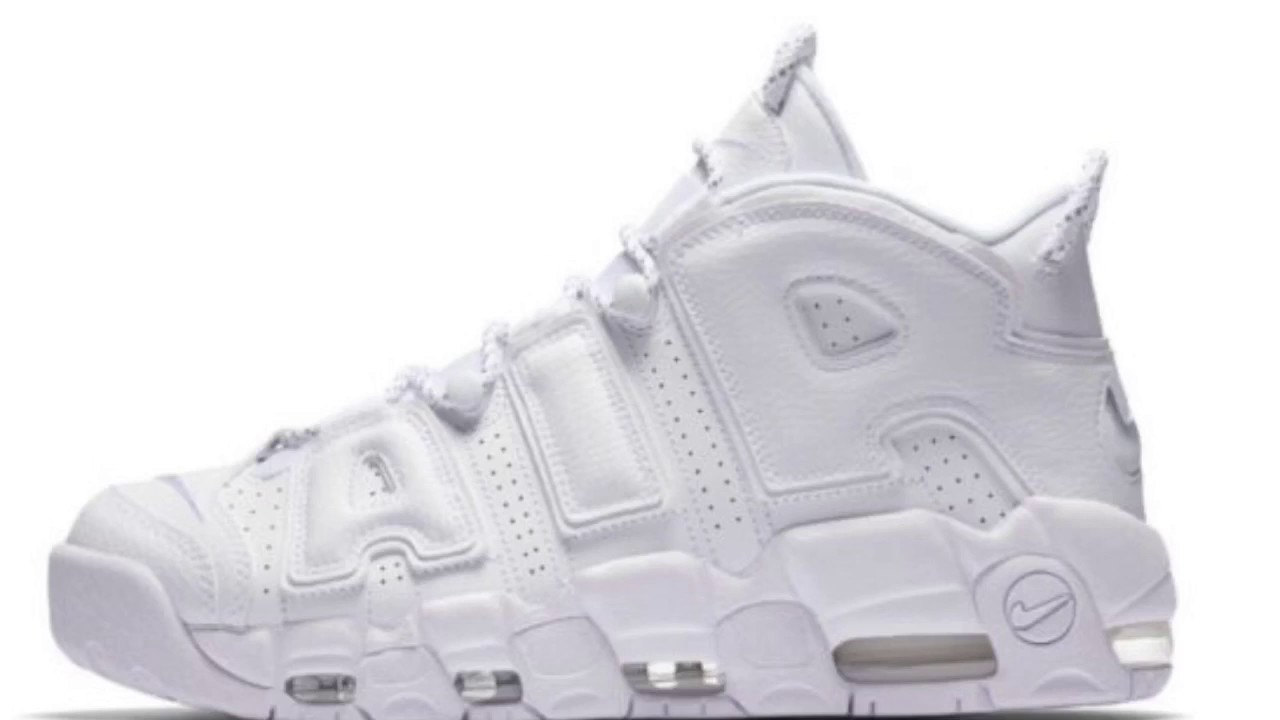 Release Date Nike Air More Uptempo Triple White