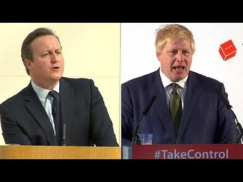 EU referendum: Boris Johnson criticises David Cameron's Brexit claims