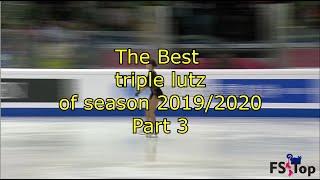 Best triple lutz of season 2019 20 Part 3 Лучшие тройные лутцы сезона 2019 20 Часть 3