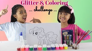 Glitter My Little Pony Coloring and Drawing For Kids