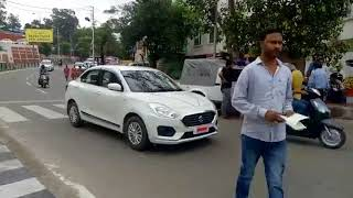 Jammu & Kashmir Traffic Police Check Point at Indira Chowk