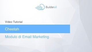 Modulo Email Marketing in Cheetah Builder