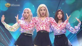 《Hot Unit Debut》 LOONA/ODD EYE CIRCLE – Girl Front 이달의 소녀 at Inkigayo 170924