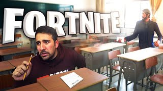 EL EXAMEN DE FORTNITE ! NIVEL *EXTREMO* - ElChurches