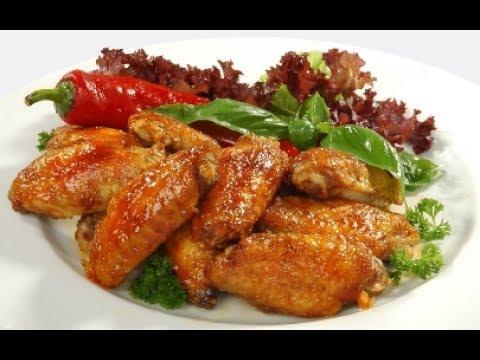 Как жарить крылышки на сковороде с майонезом