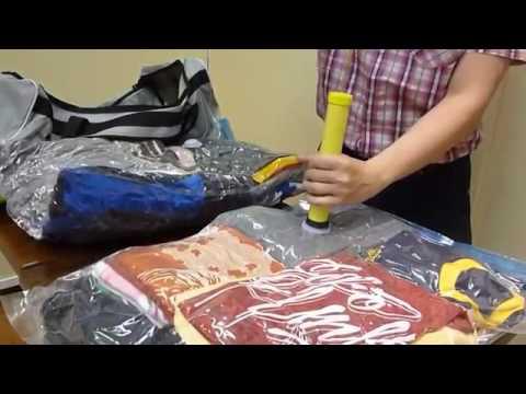 Vacuum Compressed Bag in the Singapore