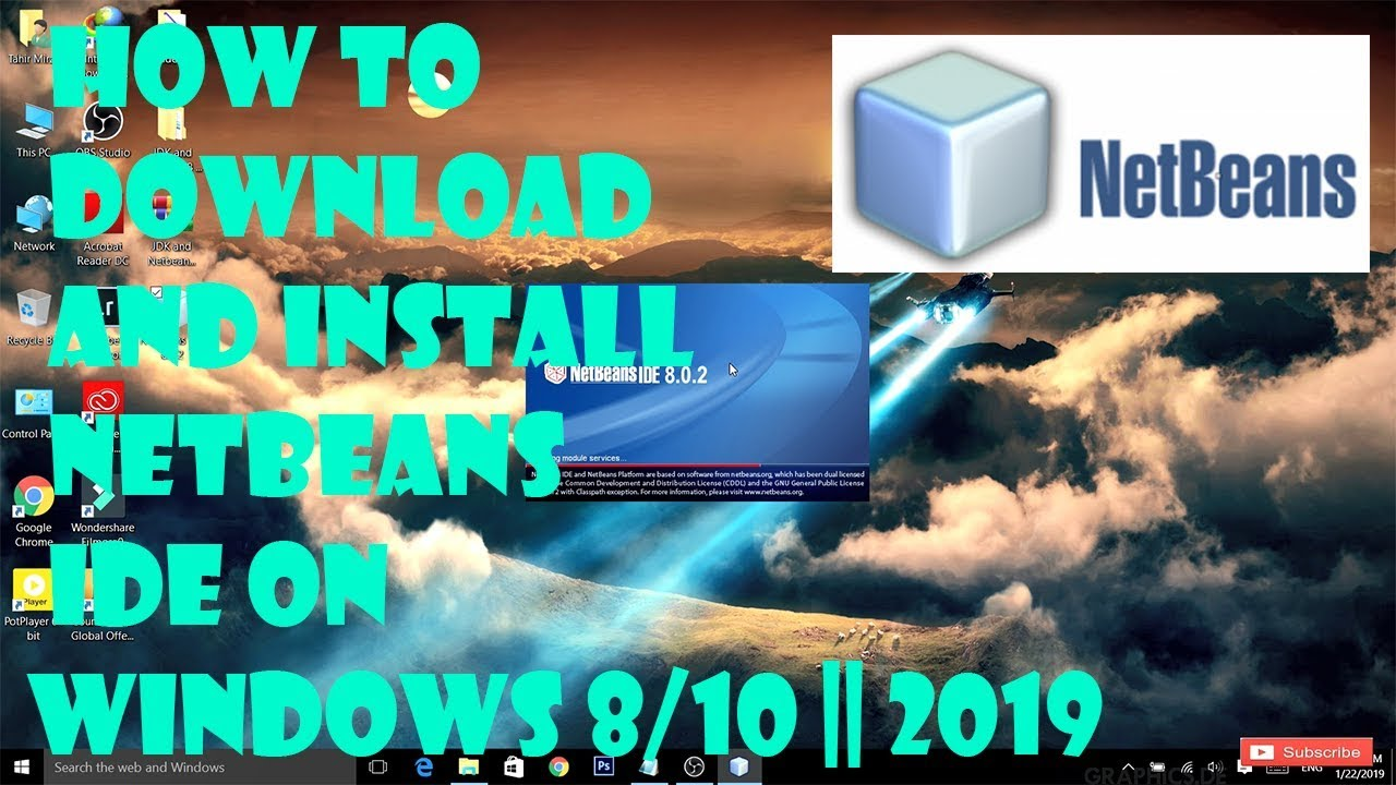 How to Download and Install NetBeans IDE on Windows 8/10 || 2019