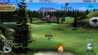 Rough Drive - Hot Shots Golf: World Invitational Gameplay (Vita)