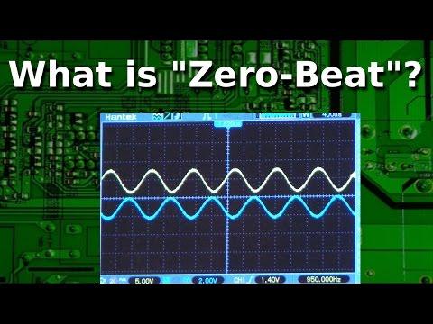 Ham Radio - What is Zero Beat and how do I use it?