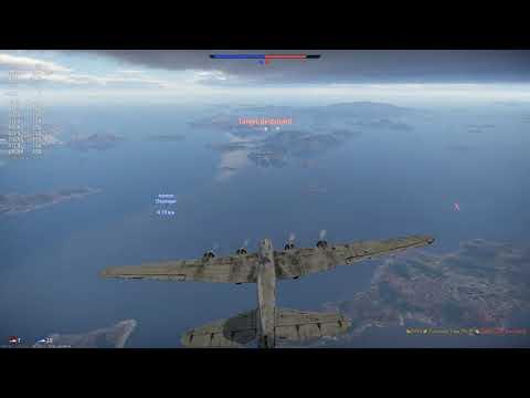 Pe-8 direct hit on ship