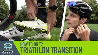 Bike To Run Triathlon Transition For Beginners | How To Do A T2 Transition