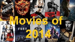 Epic 2014 Movie Montage (Year in Movies)