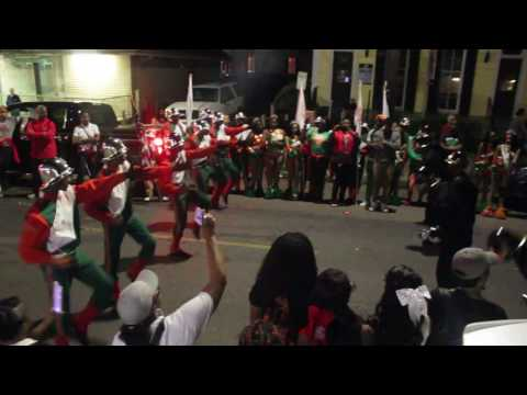 G. W. Carver vs CPAA Drill Squad | Muses Parade 2017