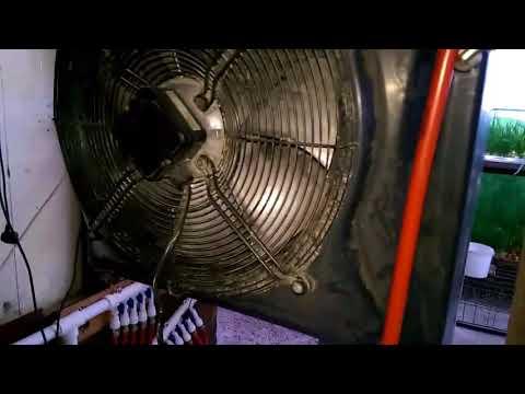 Водяной воздухонагреватель своими руками видео