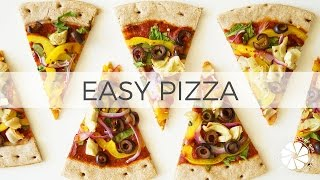 Easy Vegan Pizza | Fast Healthy Dinner Ideas | Healthy Grocery Girl