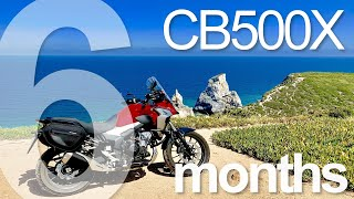 2019 Honda CB500X 6-month owner's review The Good, the Bad & the Ugly #CB500X