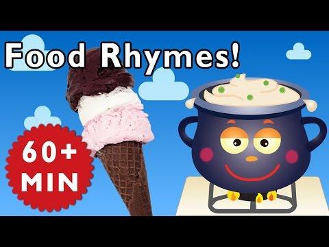 Food Rhymes | Nursery Rhymes from Mother Goose Club!